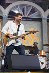 Tab Benoit at the New Orleans Jazz and Heritage Festival on Sunday, April 29, 2018