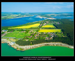 Lausitzer Seenland from Above - Germany (Hagens_world) Tags: water drohne forest lake aerialphotography landscape lausitz baum drone fotografíaaérea lago landschaft luftaufnahme luftbild lusacia lusatia natur nature see teich wald wasser wälder aqua bosque natura paisaje kleinpartwitz elsterheide sachsen germany dji fc220 deu łužica łužyca