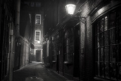 Goodwin's Court, London (David_Monaghan) Tags: london travel england street moody blackandwhite