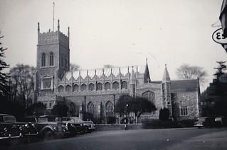 St Margaret Ipswich Suffolk 1956