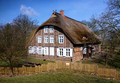 Mödlich Hallenhaus am Elbdeich (Wolfsraum) Tags: elbe lenzen mödlich elbdeich