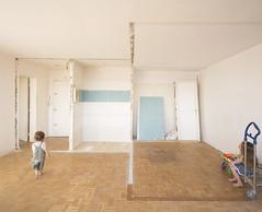 Paris 19 (Clement Guillaume) Tags: chantier appartement workinprogress démoliotion vide empty travaux renovation curage