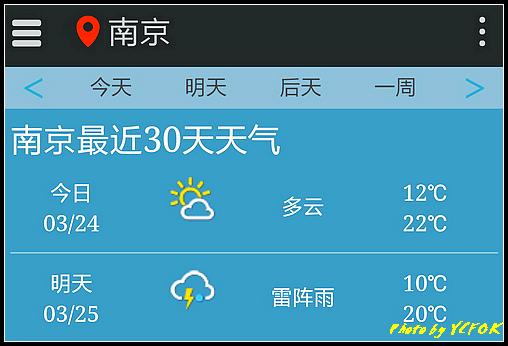 南京 2018-03-24 天氣