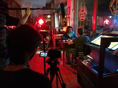 Set (davidepremoselli) Tags: set cinema lights neon colours nightphotography photography ciak