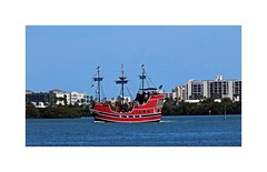 Pirate's Cruise (BlueisCoool) Tags: flickr foto photo image capture picture photography nikon coolpic l330 sky sea water boat ship vessel ocean outdoor outdoors pirates buildings florida captainmemo'spiratecruise clearwaterflorida