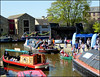Skipton Waterways Festival 2018 (Country Girl 76) Tags: skipton waterways festival 2018 canal leeds liverpool basin boats people kayaks reflections north yorkshire bandstand canoe bunting decoration