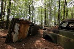IMG_5754 (mookie427) Tags: urbex urban explore exploration explorers exploring ue derelict abandoned decay decayed ruin ruined car graveyard scrapyard old junkyard rusty rusted classic cars city georgia usa