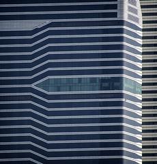 Fragment (Gadjowsky) Tags: dubai texture stripes architecture design nikon nikond5100 contrast ambient atmosphere detail skyscraper building facade nikonmea