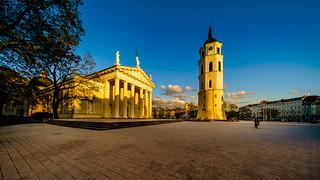 Vilnius Cathedral :: Golden Hour