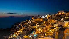SANTORIN (JP Defay) Tags: oia santorin santorini greece grèce méditerranee tourisme tourism turismo heurebleue bluehour