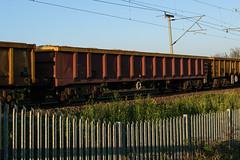 503585 Kingsthorpe 050518 (Dan86401) Tags: 503585 mla bogie open ballastbox wagon freight greenbrier ews db dbcargo redsnapper fishkind engineers departmental infrastructure wilsonscrossing kingsthorpe wcml 7r02