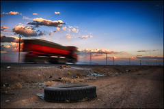 Iranian roads (bit ramone) Tags: irán road carretera truck camión velocidad neumático wheels travel viajes bitramonepentax pentax k 3 ii