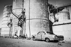 Inyo County, California (paccode) Tags: solemn california d850 forgotten desert urban silo factory scary blackwhite creepy quiet mojave abandoned monochrome lonepine unitedstates us