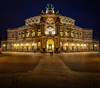 Semperoper Dresden (mad_airbrush) Tags: 5d 5dmarkiii 1740mm ef1740mmf4l deutschland germany saxony sachsen dresden semperoper lights longexposure landscape langzeitbelichtung landschaft night nightshot