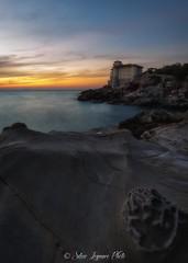 Boccale Castle (Silvio1987) Tags: boccale castle livorno italy italia manfrotto haida giottos seaside sunset sky clouds castello water