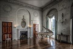 Kelmarsh Hall Interior (Darwinsgift) Tags: kelmarsh hall interior northamptonshire pc e 19mm nikkor f4 nikon d850 piano hdr