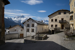 Tschlin - Il cour da las Alps