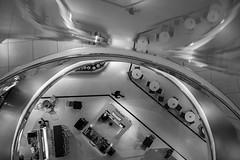 In a bowl (Balthus Van Tassel) Tags: birmingham bullring shopping mall bw urban uk