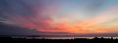 Sunrise 4.25am 21st May 2018  (6 of 9) (Philip Gillespie) Tags: edinburgh sunrise scotland sun sky clouds sea forth canon 5dsr nature morning water landscape seascape pink orange blue hour peach peaceful peace tranquility