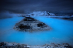 invitation to the Saga world (yan08865) Tags: geothermal water saga iceland blue flow hot nature lava landscapes mountain winter solo earth mood pavlis icelandic lagoon river stream spring steaming