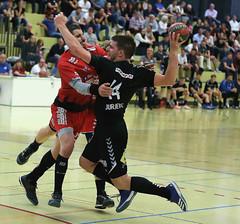 3456z_R.Varadi (Robi33) Tags: action ball basel foul handball championship fight audience referees switzerland fun play rtv1879basel gamescene sports sportshall viewers