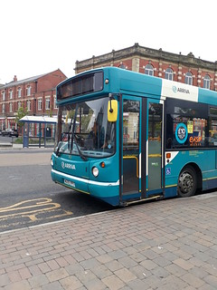 Arriva northumbria 4521 making a rare appearance on the 308 whilst on loan to blyth