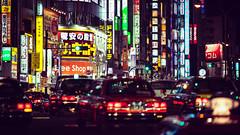 Street Lights - Kabuki Cho (Fab Photographe) Tags: kabukicho shinjuku tokyo japan streetlights night streetphotography cinematic zeiss ze aposonnart2135
