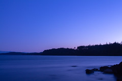 Witty's Lagoon at dusk (Joel Apple) Tags: longexposure pacificnorthwest wittyslagoon ocean bluehour vancouverisland northamerica nightphotography things colors canada victoria britishcolumbia places dusk