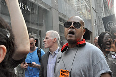 pence (greenelent) Tags: notrump protest demonstration riseandresist streets people activists nyc newyork