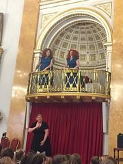 DDD ballroom balcony liverpool town hall Lightnight 2018 (Double D Divas) Tags: double d divas performance art bsl lightnight liverpool