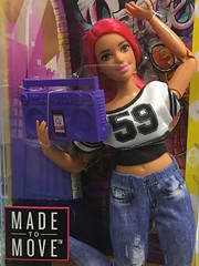 >happy dance happy dance< (Bob in NY) Tags: pinkhair curvy madetomove mattel