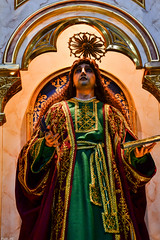 San Juan Apostol at the side retablo of the San Agustin Parish Church in Baliuag, Bulacan (Fritz, MD) Tags: bulacanvisitaiglesia visitaiglesia bulacan baliuagbulacan baliwagbulacan baliuag baliwag baliuagchurch balwagchurch sanagustinchurch saintaugustineparishchurchofbaliuag sanjuanapostol saintjohntheapostle saintjohnthebeloved saintjohntheevangelist sanjuan saintjohn sanjuanapostolyevangelista sanjuanebanghelista
