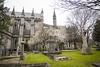 18FEB26 SLYNNLEE-5988 (Suni Lynn Lee) Tags: dublin saintpatrickscathedral stpatrick saint patrick cathedral gothic celtic cross grave headstone steeple