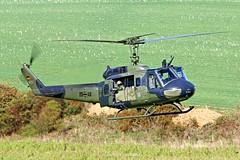 German Army UH-1D 73+43 @ Niederstetten (Heliexperte) Tags: helicopter hubschrauber bundeswehr army german germany bell uh1d military