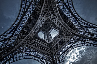 Lace of Eiffel. Paris
