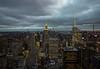 Top of the Rock (valeriaconti136) Tags: topoftherock newyorkbynight cityscape skyscrapers grattacieli skyline cielo edificio manhattan canoneos80d