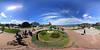 estatua José Rio Sainz, frente a peninsula de la Magdalena, Santander, (Carlos G. Fuentetaja) Tags: esferica spheric spherical sunny exteriores outdoors cielo nubes keymission360 santander keymission cantabria