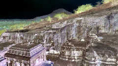 India - Maharashtra - Ellora Caves - Cave 16 - 201bb (asienman) Tags: india maharashtra elloracaves cave16 asienmanvideography asienmanphotoart