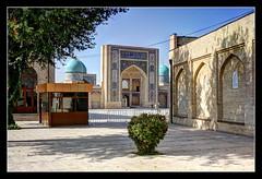 Taschkent UZ - Barak-khan Medrese 02 (Daniel Mennerich) Tags: silk road uzbekistan tashkent history architecture hdr barakkhanmedrese
