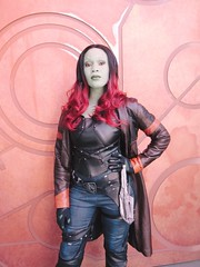 gamora | hollywood land backlot (Lawrence Rosales) Tags: gamora disneyland