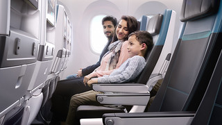 West Jet - economy in flight entertainment