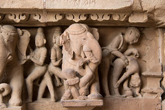 Erotic sculpture at the Lakshmana Temple S24A8561 (grebberg) Tags: madhyapradesh khajuraho kamasutra temple westerngroupoftemples chandeladynasty chandela hinduism india march 2018 lakshmanatemple lakshmana lordshiva shiva erotic sculpture