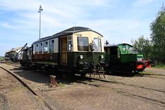 Omc en oersik naast elkaar (vos.nathan) Tags: sgb stoomtrein goes borsele ns nederlandse spoorwegen omc ome ceesje oersik 122 909 gs
