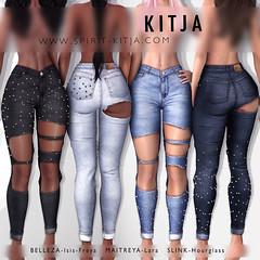KITJA - Isa Jeans (ᴋɪᴛᴊᴀ) Tags: kitja spiritkitja secondlife belleza bellezafreya bellezaisis maitreya maitryalara slink slinkhourglass