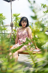 DSC_4084 (Hosting and Web Development) Tags: sit leg leaf shoulder sunlight sky sunshine green grass arm asia afternoon hair face female femininity body casual young one outdoor portrait person officialnikkor