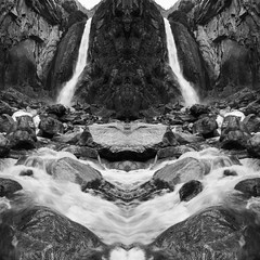 2 Falls (Chris Skopec) Tags: california nationalparks sierranevadamountains sierras usa yosemite yosemitenationalpark yosemitevalley fall landscapephotography landscapes mountains scenic travel