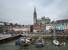 Cobh Harbour - Ireland (phil_king) Tags: cobh harbour seaside coast water boats town church cathedral county cork ireland eire irish republic