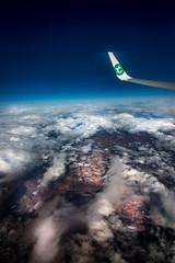 Sky and clouds (Johnny.fr) Tags: canon tokina1116 tokina sky nuage avion gif texture vol 650d ciel skie cloud fly