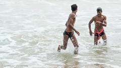 Seaside-11.jpg (Karl Becker Photography) Tags: india odisha gopalpur nikon seaside ocean boy youngman man male shirtless speedo swimming sport