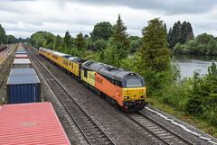 Thames Skips (Teignstu) Tags: hinksey oxfordshire railway colas class67 67023 67027 testtrain